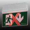 Световой указатель эвакуационного выхода ESC-80 с возможностью изменять смысловое значением (функция ADAPTIVE) – проход запрещен