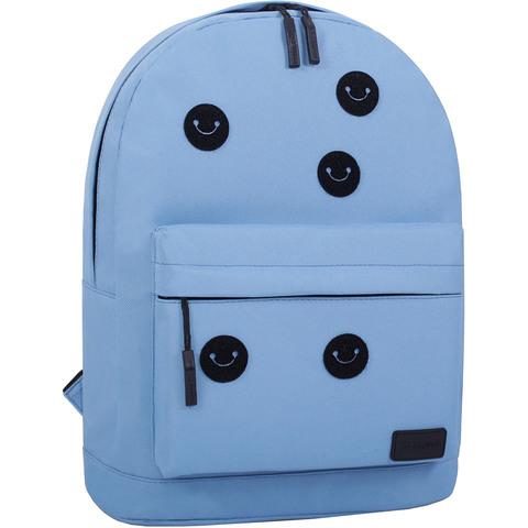 Рюкзак Bagland Молодежный W/R 17 л. 190 Голубой (00533662 Ш)