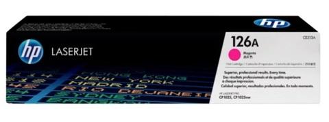 Оригинальный картридж HP CE313A 126A пурпурный