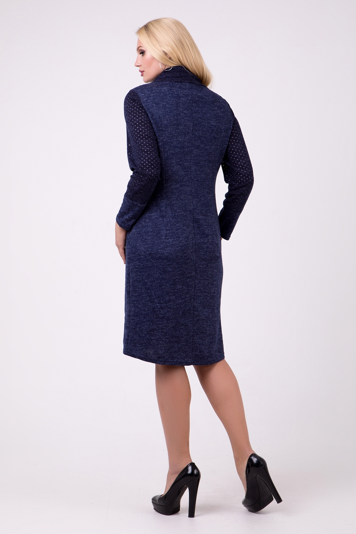 Платье Эдита (синий)