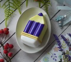 Пластиковая форма для шоколада дет. КАРАНДАШ (90х55мм)