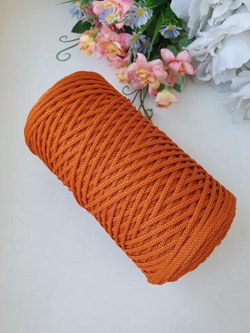 Морковный Полиэфирный шнур 2 мм