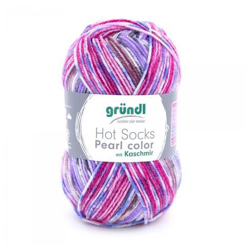 Gruendl Hot Socks Pearl Color 07 купить www.knit-socks.ru