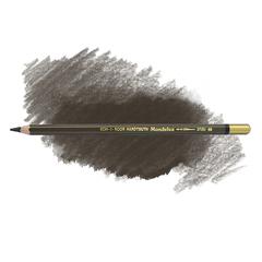 Карандаш художественный акварельный MONDELUZ, цвет 68 умбра жженая