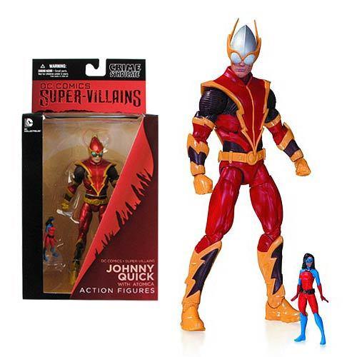 New 52 Super Villains DC Comics - Johnny Quick With Atomica