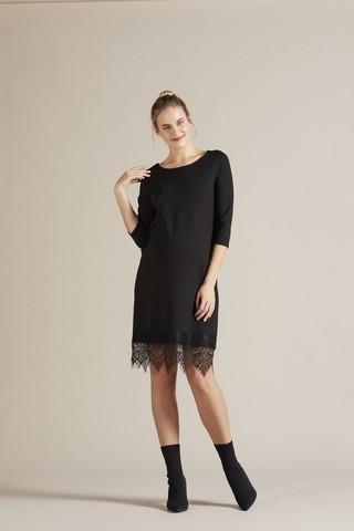 Платье для беременных 09745 черный