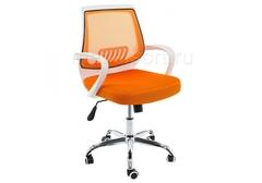 Компьютерное кресло Ергоплюс (Ergoplus) белое / оранжевое