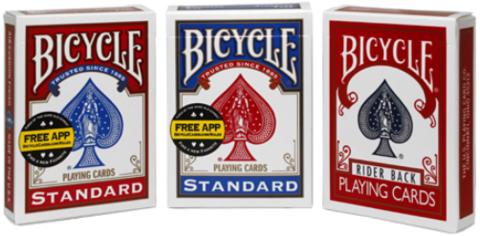 Пустая коробка Bicycle Standard