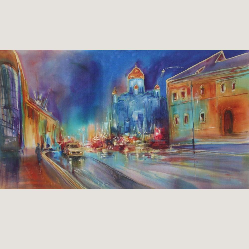 Картина батик Москва