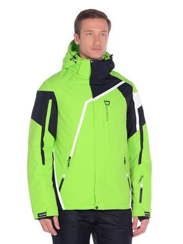 Горнолыжная мужская куртка BATEBEILE салатового цвета.