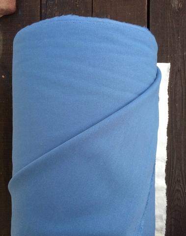Отрез 2м, Хлопок деним 100%, цвет Голубой индиго