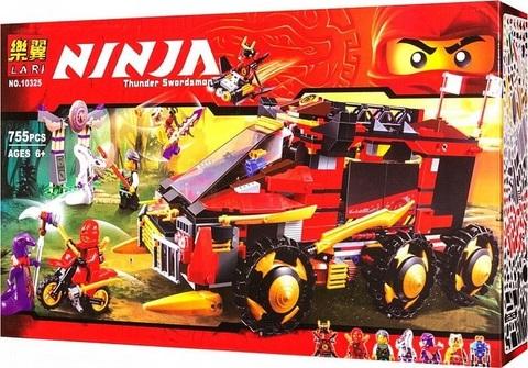 Конструктор Ninja 10325 Мобильная база Ниндзя