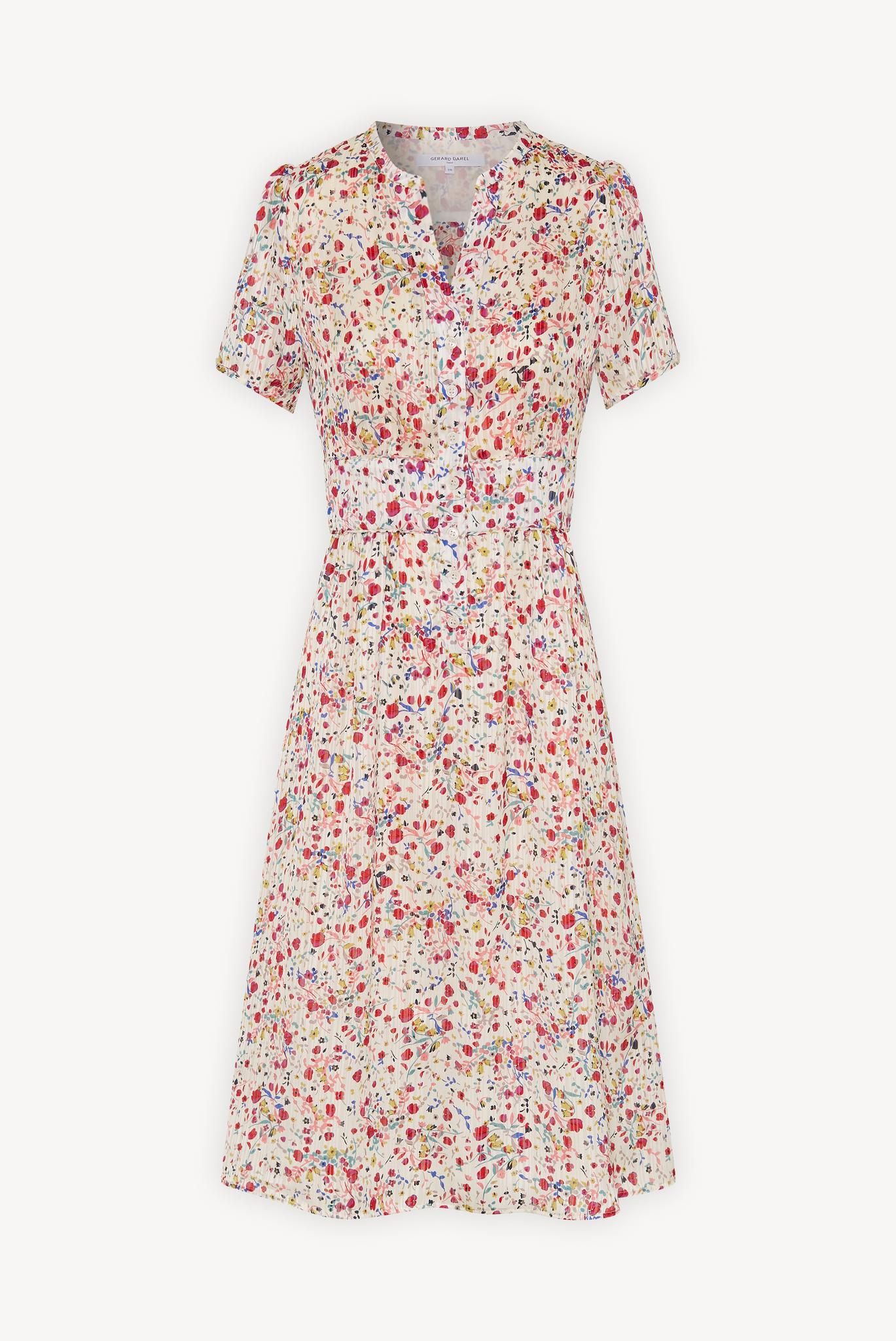 STACEY - Короткое платье с цветочным принтом