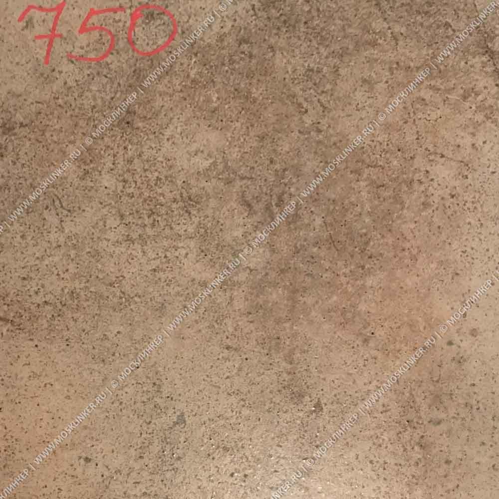 Stroeher - Keraplatte Aera 750 rubeo 340x294x12 артикул 9340 - Клинкерная ступень - флорентинер