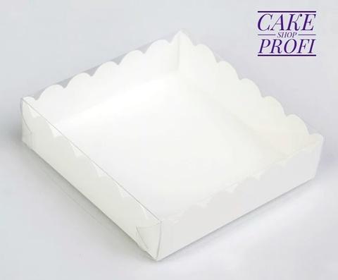 Коробка для пряников 20×20×3.5см, белая