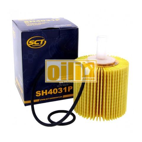 Фильтр масляный SCT SH4031 P (Lexus, Toyota)