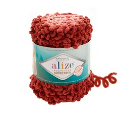 Пряжа Alize Puffy Fine Ombre Batik цвет 7300
