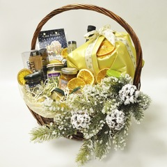 Подарочная корзина Casa Rinaldi с набором продуктов BUONA ITALIA большая