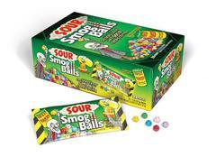Кислые драже Toxic Waste Smog Balls 48 гр