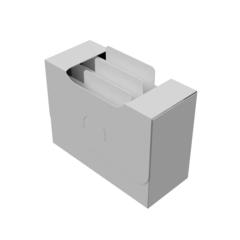 Органайзер для карт Uniq Card-File Standard - 40 mm (белый)