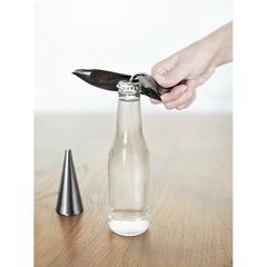 Открыватель для бутылок на подставке Tipsy титан, фото 2