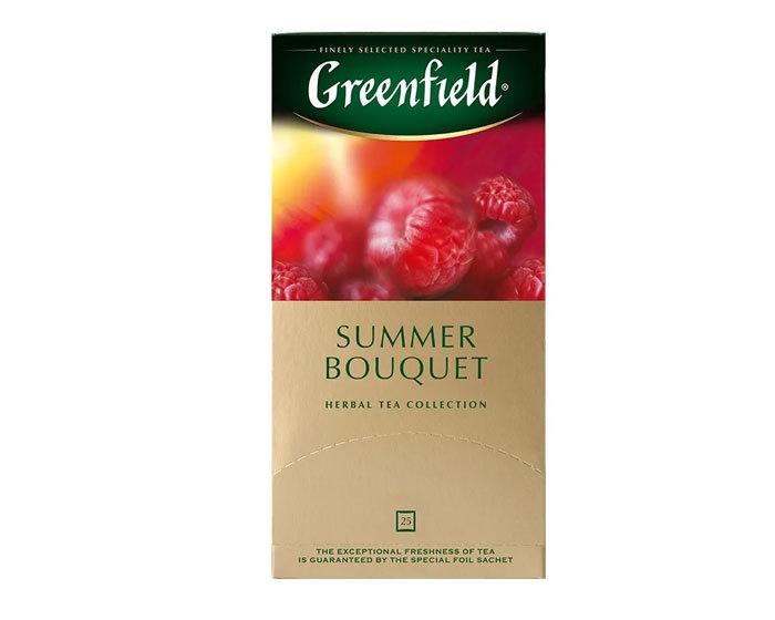 купить Чайный напиток в пакетиках из фольги Greenfield Summer Bouquet, 25 пак/уп