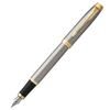 Parker IM Core - Brushed Metal GT, перьевая ручка, F