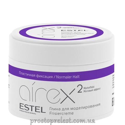 Estel Airex Frisiercreme - Глина для моделирования волос пластичной фиксации с матовым эффектом