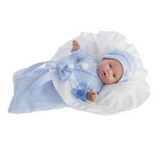 Munecas Antonio Juan Кукла Ланита в голубом., плач., 27 см (1110B)