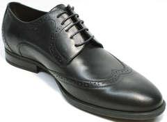 Классические мужские туфли под костюм Ikos 1157-1 Classic Black.