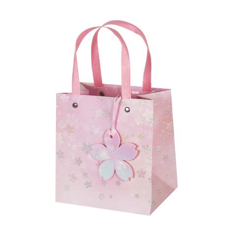 Пакет подарочный Pink 15*16*11 2