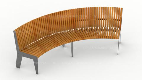 Полукруглая скамейка SCAM0002