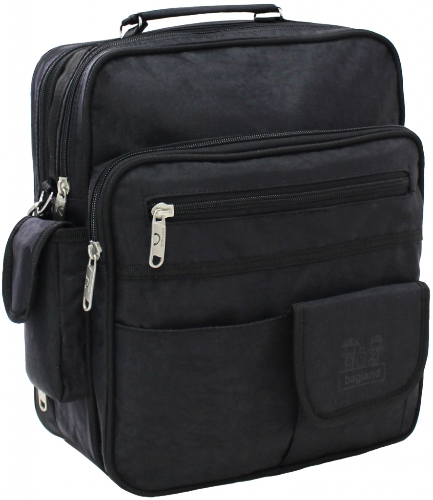 Сумки через плечо Мужская сумка Bagland Комерсант 11 л. Чёрный (0023870) 402af95541953f1eb1bf48e1d10fa643.JPG