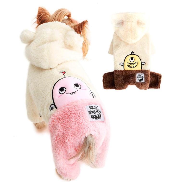 379 PA - Комбинезоны для собак меховые