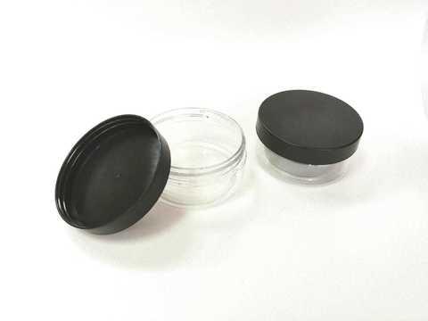 Емкость с крышкой: для крема, сыпучих материалов и слаймов. 105мл.