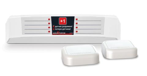 Радиобаза с двумя беспроводными датчиками «Аквасторож»