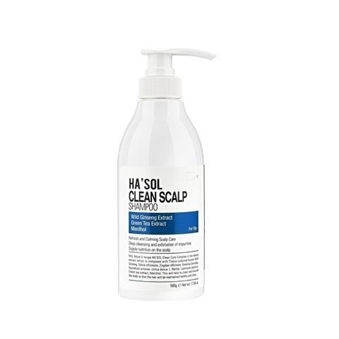 Глубокоочищающий Шампунь Для Жирных Волос HA'SOL Clean Scalp Line Shampoo