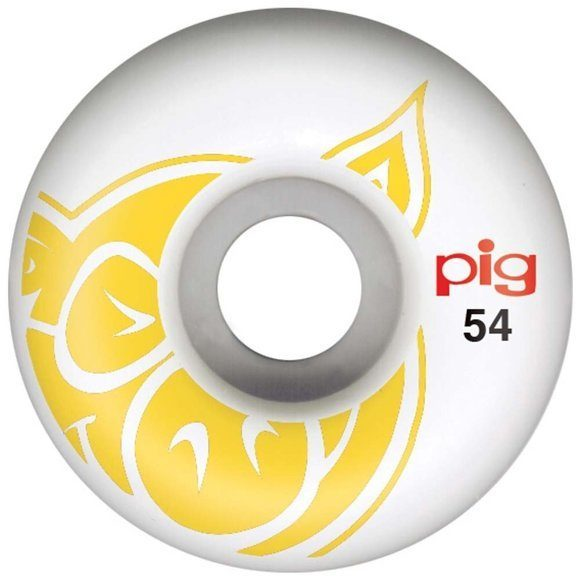 Колеса Pig 3D Conical Yellow 51 mm/101A