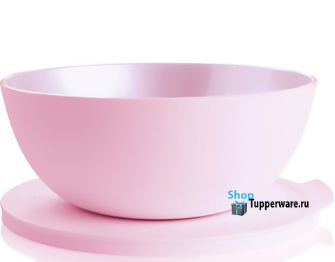 Аллегро чаша 5л в розовом цвете