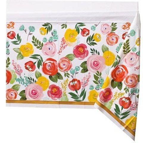 Скатерть Цветочный Вальс, 140х240 см