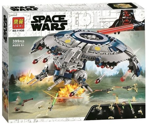 Конструктор Lari  Space Wars 11420 Дроид-истребитель