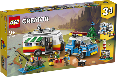 Lego konstruktor Creator Caravan Family Holiday