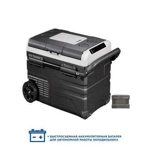 Компрессорный автохолодильник Alpicool ETWW55 (Двухкамерный, 12/24/110/220V, 55л)