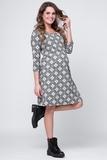 Платье для беременных 07945 серый