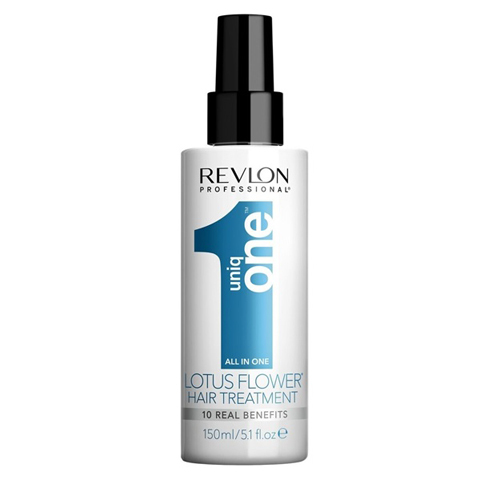 REVLON Uniq One: Несмываемая маска спрей для волос Лотус (Uniq One All in One Lotus Flower Hair Treatment), 150мл