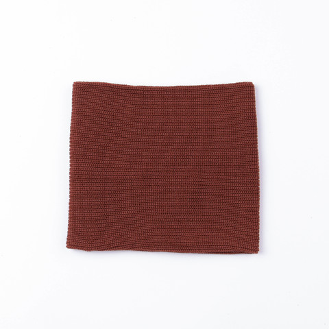 Knitted snood - Paprika