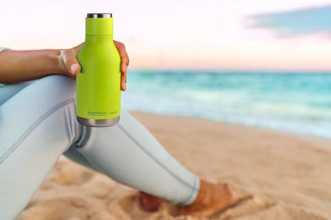 Термос-бутылка Asobu Urban (0,46 литра), зеленая