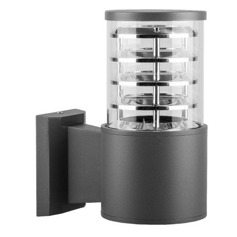 Садово-парковый светильник FERON DH0801 E27 серый