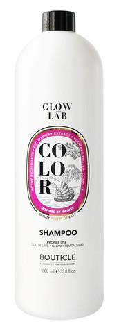 Шампунь для окрашенных волос с экстрактом брусники - Bouticle Glow Lab Color Shampoo 1000 мл