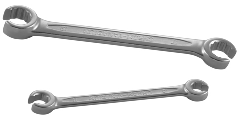 W243032 Ключ гаечный разрезной, 30х32 мм